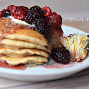 Eden Valley Honey Whole Wheat Pancakes1